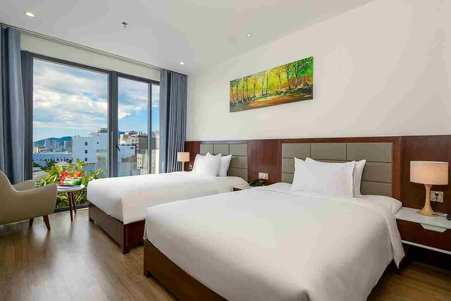 Aria Grand Hotel & Apartment 4* Đà Nẵng - Deluxe City View - 18