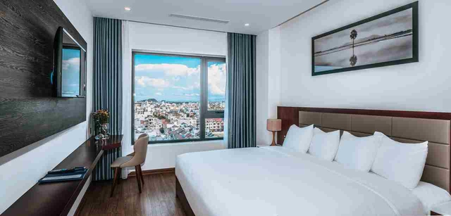 Aria Grand Hotel & Apartment 4* Đà Nẵng - Deluxe City View - 16