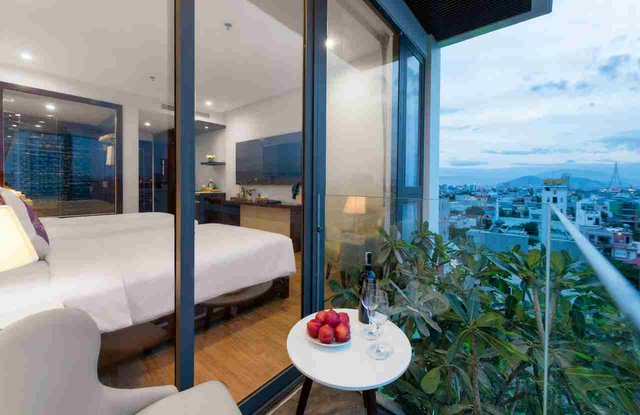 Aria Grand Hotel & Apartment 4* Đà Nẵng - Deluxe City View - 20