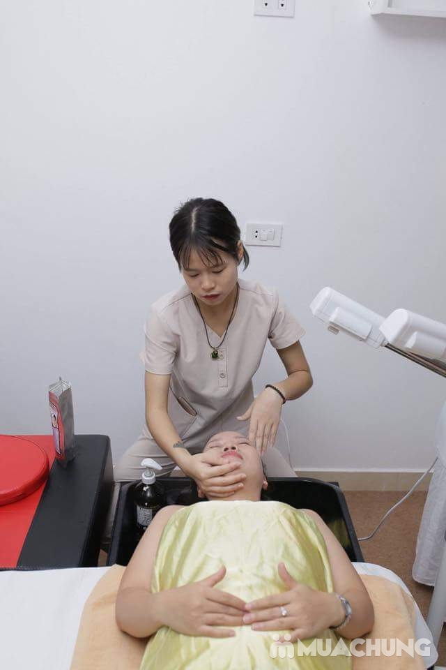 150 phút xông hơi đá muối himalaya kết hợp massage độc quyền tại Sunflower healthy Spa - 9