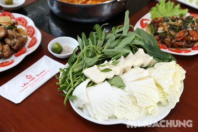 Lẩu Ếch om măng cay/om chuối đậu tại Lẩu Hội Quán -  tặng đĩa khoai chiên - 17