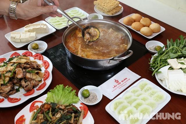 Lẩu Ếch om măng cay/om chuối đậu tại Lẩu Hội Quán -  tặng đĩa khoai chiên - 12