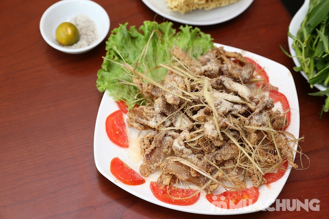 Lẩu đuôi bò hầm thuốc bắc cho 2 -3 người tại Nhà hàng Lẩu Hội Quán - 10