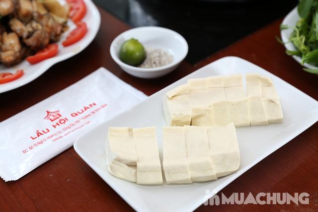 Lẩu Ếch om măng cay/om chuối đậu tại Lẩu Hội Quán -  tặng đĩa khoai chiên - 22