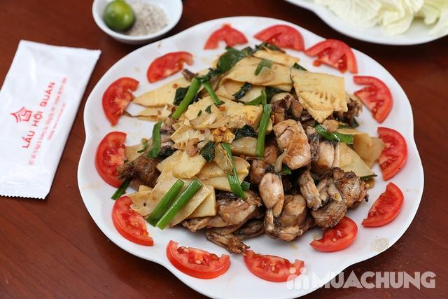 Lẩu Ếch om măng cay/om chuối đậu tại Lẩu Hội Quán -  tặng đĩa khoai chiên - 14