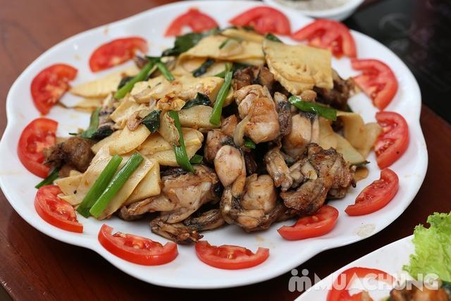 Lẩu Ếch om măng cay/om chuối đậu tại Lẩu Hội Quán -  tặng đĩa khoai chiên - 26