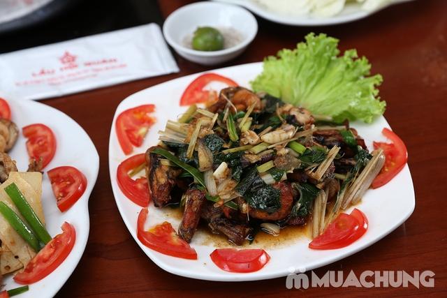 Lẩu Ếch om măng cay/om chuối đậu tại Lẩu Hội Quán -  tặng đĩa khoai chiên - 13