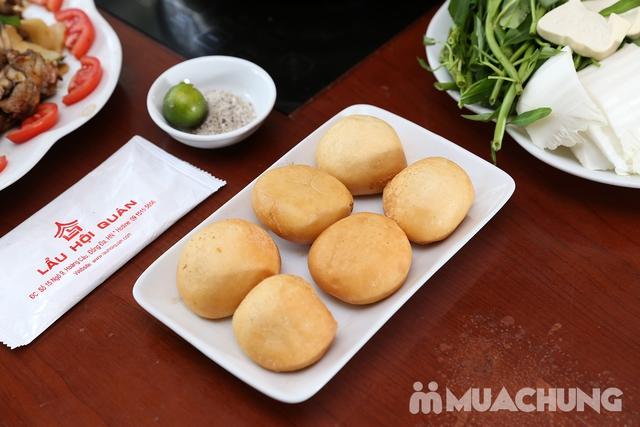 Lẩu Ếch om măng cay/om chuối đậu tại Lẩu Hội Quán -  tặng đĩa khoai chiên - 18