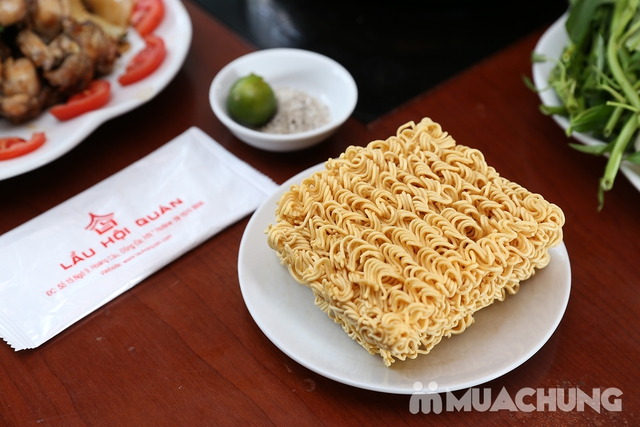 Lẩu Ếch om măng cay/om chuối đậu tại Lẩu Hội Quán -  tặng đĩa khoai chiên - 23