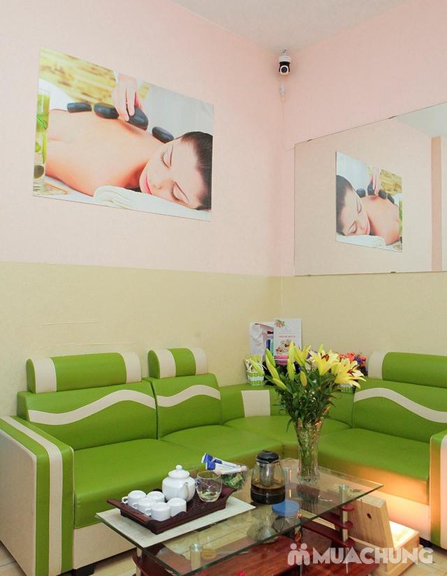 60 phút Massage cổ vai gáy, đả thông kinh lạc-Tặng 1 buổi Massage chân & đá muối - Golden Moon Spa - 30