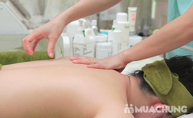 60 phút Massage cổ vai gáy, đả thông kinh lạc-Tặng 1 buổi Massage chân & đá muối - Golden Moon Spa - 21