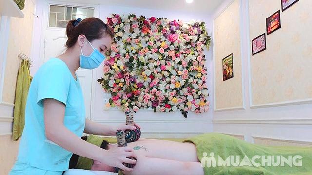 60 phút Massage cổ vai gáy, đả thông kinh lạc-Tặng 1 buổi Massage chân & đá muối - Golden Moon Spa - 18