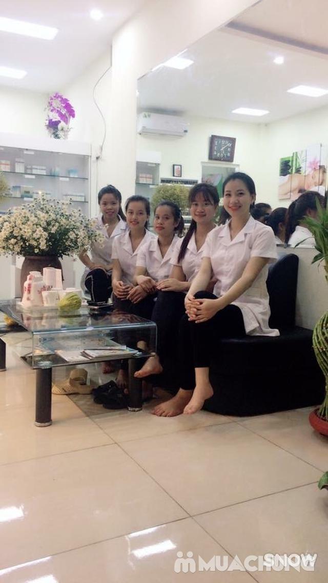 Foot Massage kết hợp chườm ngải cứu và bấm huyệt tại Viện Sức khỏe Nghề nghiệp và Môi trường - 4