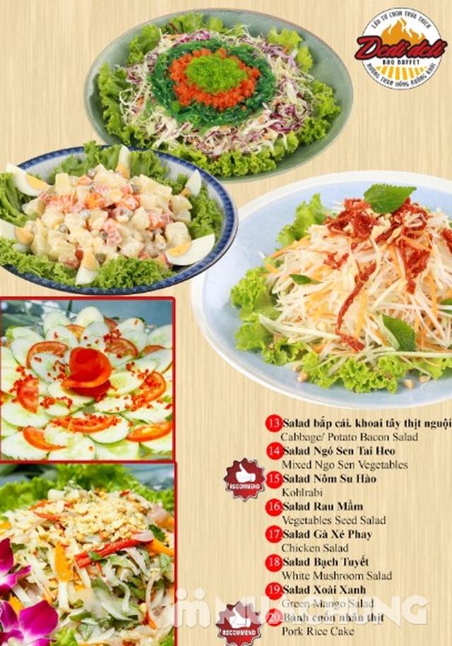Deli Deli - Buffet Nướng Lẩu – Tặng kèm 36 món ăn chơi - Áp Dụng Tại Royal City  - 52