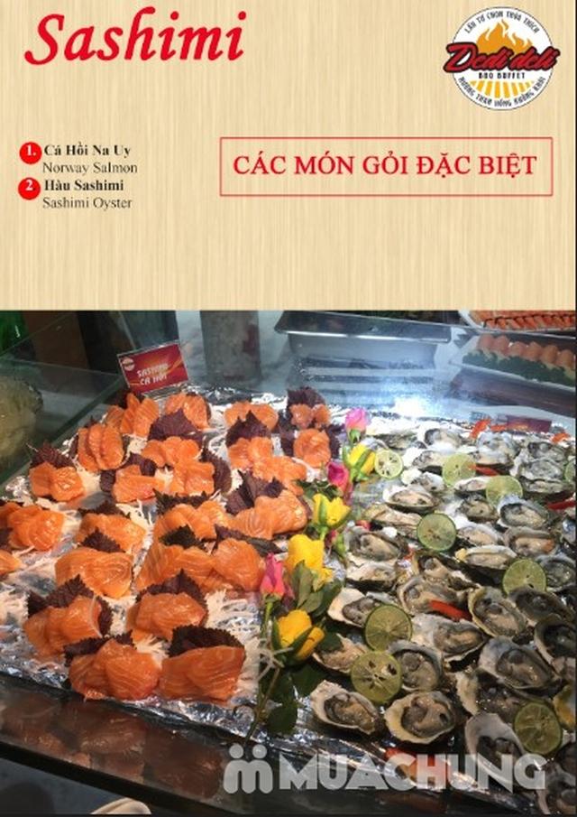 Deli Deli - Buffet Nướng Lẩu – Tặng kèm 36 món ăn chơi - Áp Dụng Tại Royal City  - 46