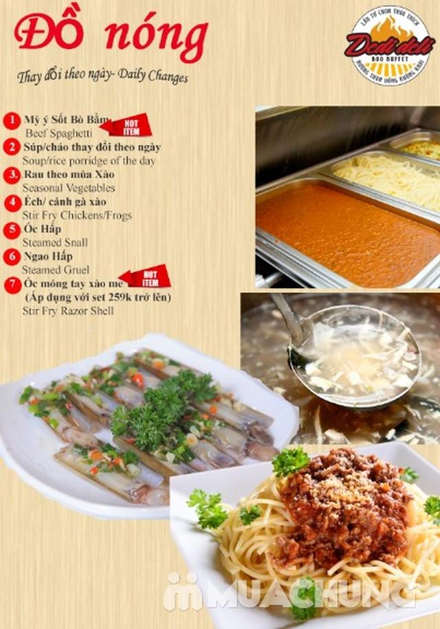 Deli Deli - Buffet Nướng Lẩu – Tặng kèm 36 món ăn chơi - Áp Dụng Tại Royal City  - 48