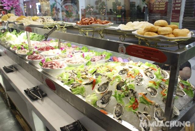 Deli Deli - Buffet Nướng Lẩu – Tặng kèm 36 món ăn chơi - Áp Dụng Tại Royal City  - 12