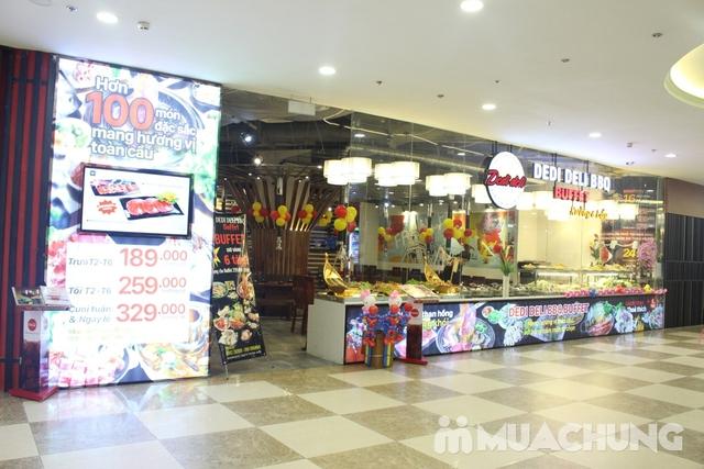 Deli Deli - Buffet Nướng Lẩu – Tặng kèm 36 món ăn chơi - Áp Dụng Tại Royal City  - 1