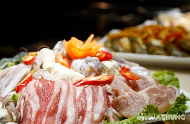 Deli Deli - Buffet Nướng Lẩu – Tặng kèm 36 món ăn chơi - Áp Dụng Tại Royal City  - 15