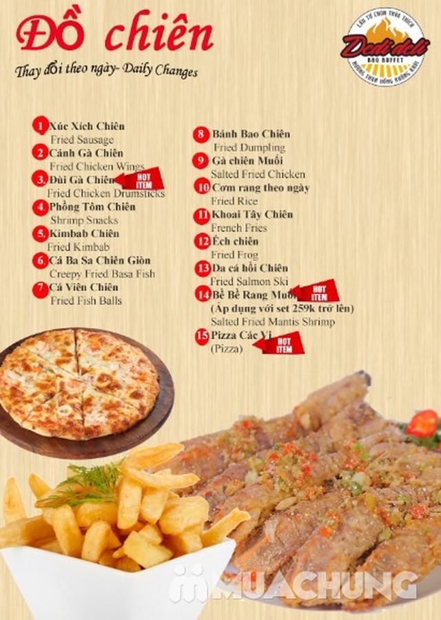 Deli Deli - Buffet Nướng Lẩu – Tặng kèm 36 món ăn chơi - Áp Dụng Tại Royal City  - 50