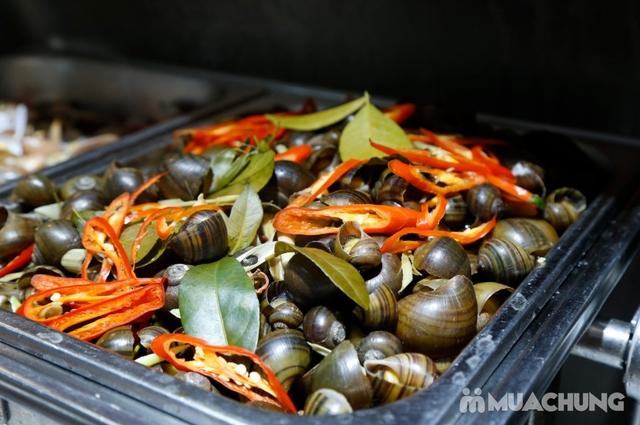 Deli Deli - Buffet Nướng Lẩu – Tặng kèm 36 món ăn chơi - Áp Dụng Tại Royal City  - 35
