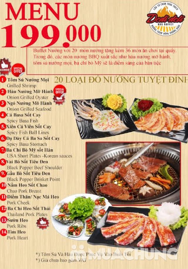 Buffet Lẩu hoặc Nướng tại nhà hàng Dedi Deli BBQ- Royal City - 21