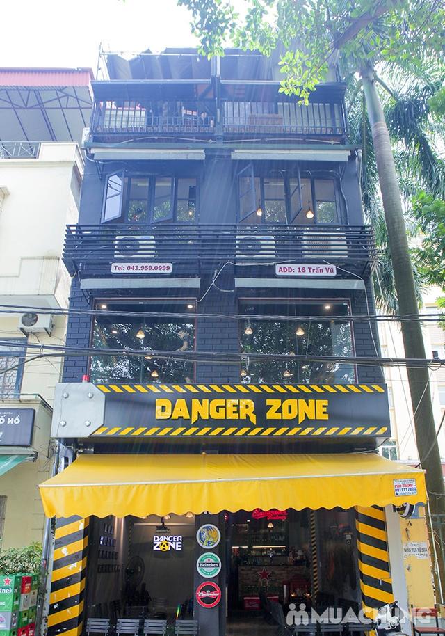 Combo 2 suất Bánh mì chảo/bánh mỳ sốt vang kèm đồ uống tại Danger Zone - 19