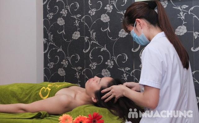 Massage body chạy đá nóng kết hợp bấm huyệt đả thông kinh lạc tại Gemma Spa - 6