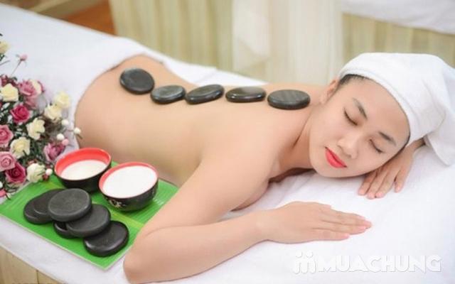 Massage body chạy đá nóng kết hợp bấm huyệt đả thông kinh lạc tại Gemma Spa - 7