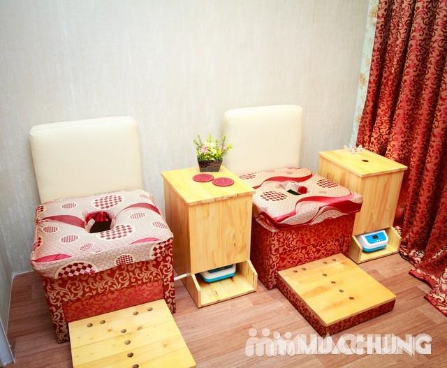 Chai -Yok xông phụ khoa Korea + uống trà tại Qeen's House - 5