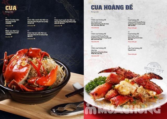 Voucher giảm giá tại NH QUEEN'S CRAB - Crab & Seafood Restaurant chuyên cua & hải sản phong cách Âu - 19