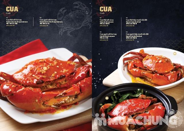 Voucher giảm giá tại NH QUEEN'S CRAB - Crab & Seafood Restaurant chuyên cua & hải sản phong cách Âu - 15