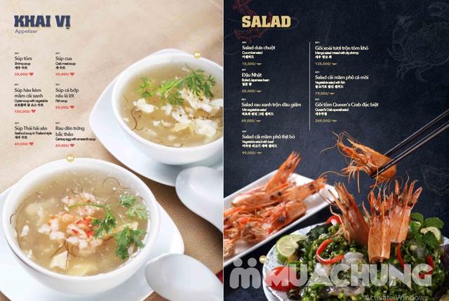 Voucher giảm giá tại NH QUEEN'S CRAB - Crab & Seafood Restaurant chuyên cua & hải sản phong cách Âu - 4