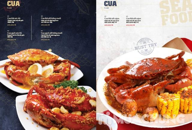 Voucher giảm giá tại NH QUEEN'S CRAB - Crab & Seafood Restaurant chuyên cua & hải sản phong cách Âu - 16