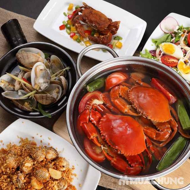 Voucher giảm giá tại NH QUEEN'S CRAB - Crab & Seafood Restaurant chuyên cua & hải sản phong cách Âu - 20