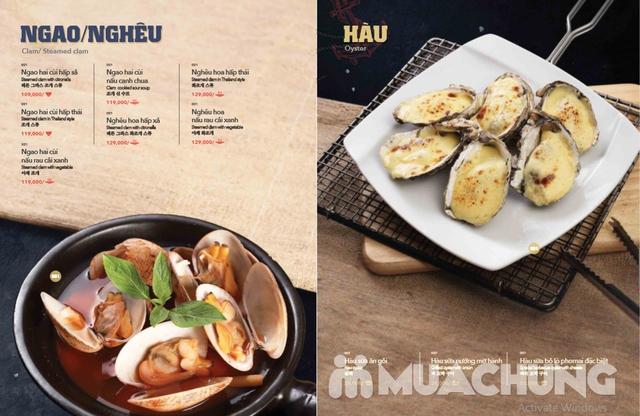 Voucher giảm giá tại NH QUEEN'S CRAB - Crab & Seafood Restaurant chuyên cua & hải sản phong cách Âu - 9