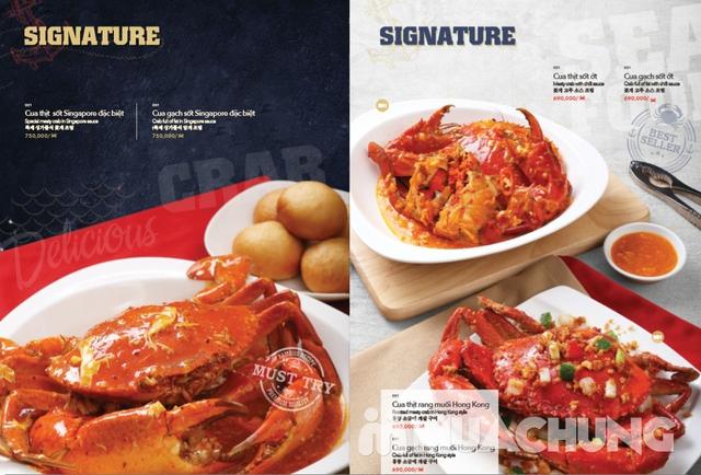 Voucher giảm giá tại NH QUEEN'S CRAB - Crab & Seafood Restaurant chuyên cua & hải sản phong cách Âu - 14
