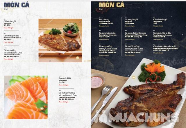 Voucher giảm giá tại NH QUEEN'S CRAB - Crab & Seafood Restaurant chuyên cua & hải sản phong cách Âu - 3