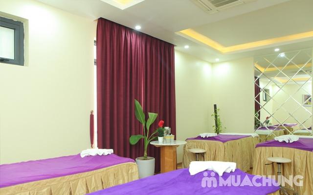 Xông hơi kết hợp Massage body đá muối Himalaya tặng kèm nước chanh muối - Cham Beauty Spa - 38