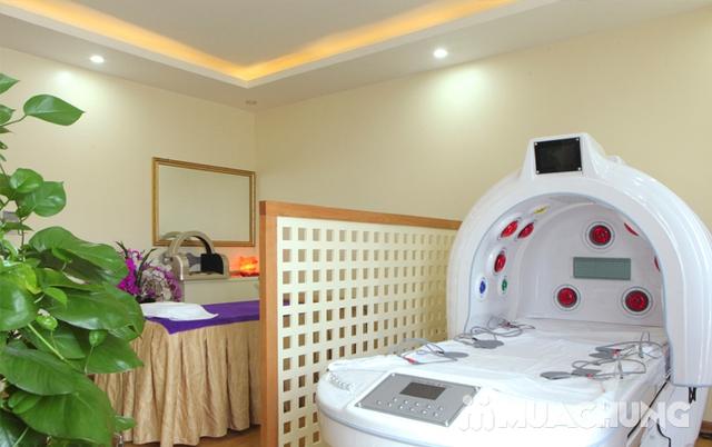 Xông hơi kết hợp Massage body đá muối Himalaya tặng kèm nước chanh muối - Cham Beauty Spa - 33