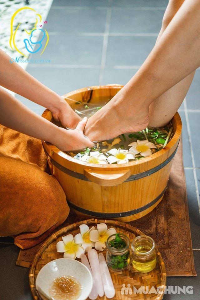 Ngâm chân, đắp mặt, massga thư giãn lưu thông ký huyết cho bà bầu tại nhà - Miss Care Hà Nội - 6
