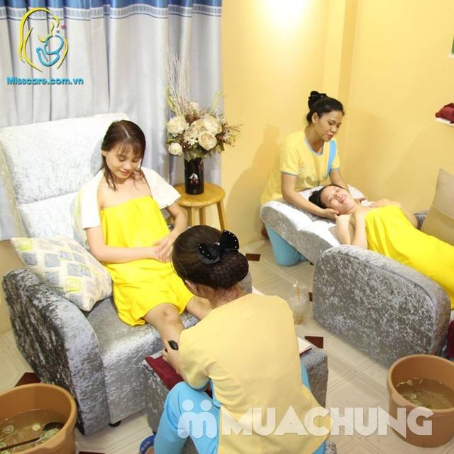 Ngâm chân, đắp mặt, massga thư giãn lưu thông ký huyết cho bà bầu tại nhà - Miss Care Hà Nội - 9