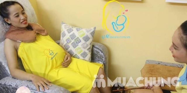 Ngâm chân, đắp mặt, massga thư giãn lưu thông ký huyết cho bà bầu tại nhà - Miss Care Hà Nội - 5