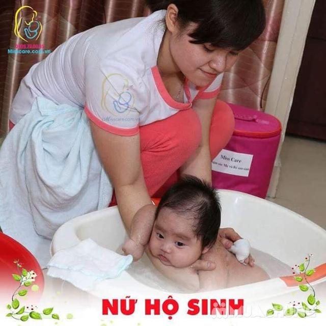 Dịch vụ tắm cho bé sơ sinh tại nhà - Miss Care Hà Nội - 3