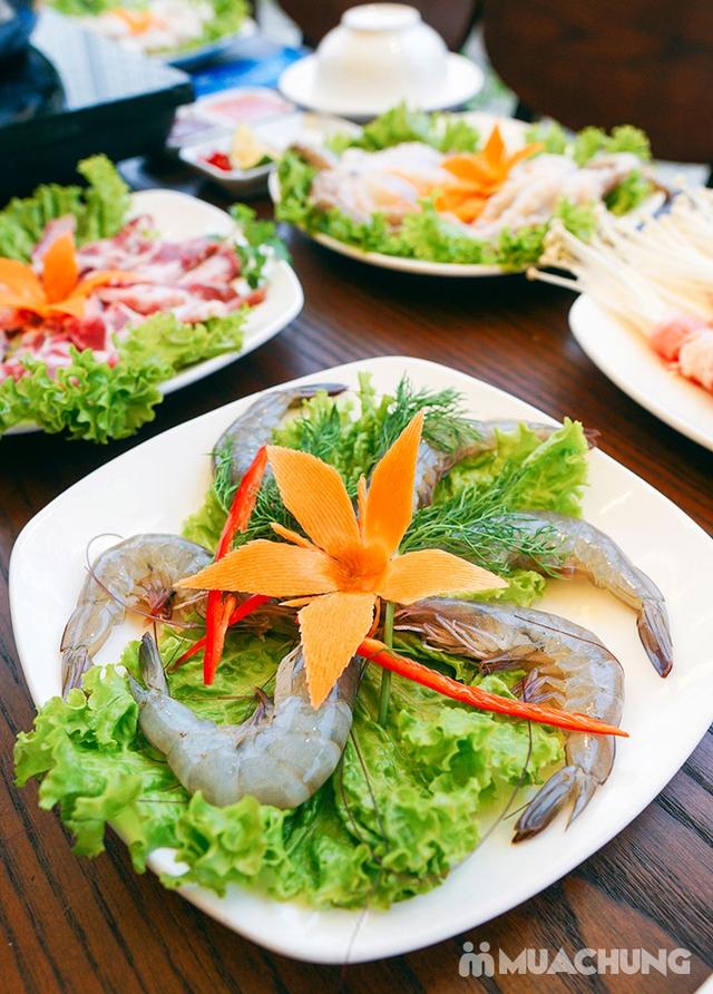 Buffet lẩu không giới hạn tại Nhà hàng Ẩm Thực Việt - Tặng Coca - 36