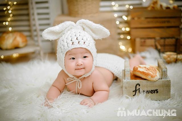Gói chụp ảnh đẹp lung linh cho bé và gia đình tại Candy Studio - 14