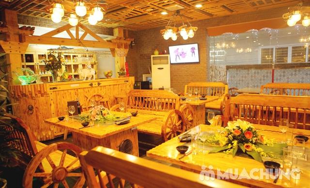 Buffet Lẩu Hải sản bò Mỹ và Sushi tại Nhà hàng Moon BBQ - 10