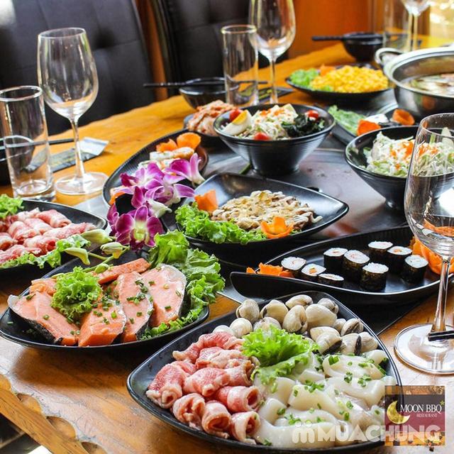 Buffet Lẩu Hải sản bò Mỹ và Sushi tại Nhà hàng Moon BBQ - 20