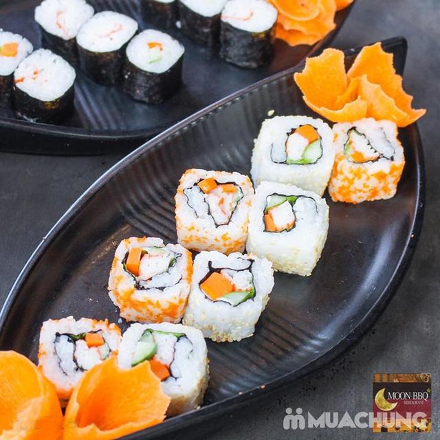 Buffet Lẩu Hải sản bò Mỹ và Sushi tại Nhà hàng Moon BBQ - 18