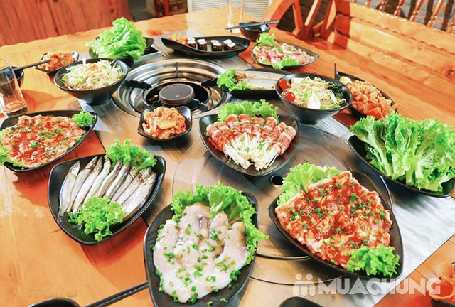 Buffet nướng Hàn Quốc ăn thả ga tại Nhà hàng Moon BBQ - 13